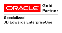 Oracle jd edwards - gold partner