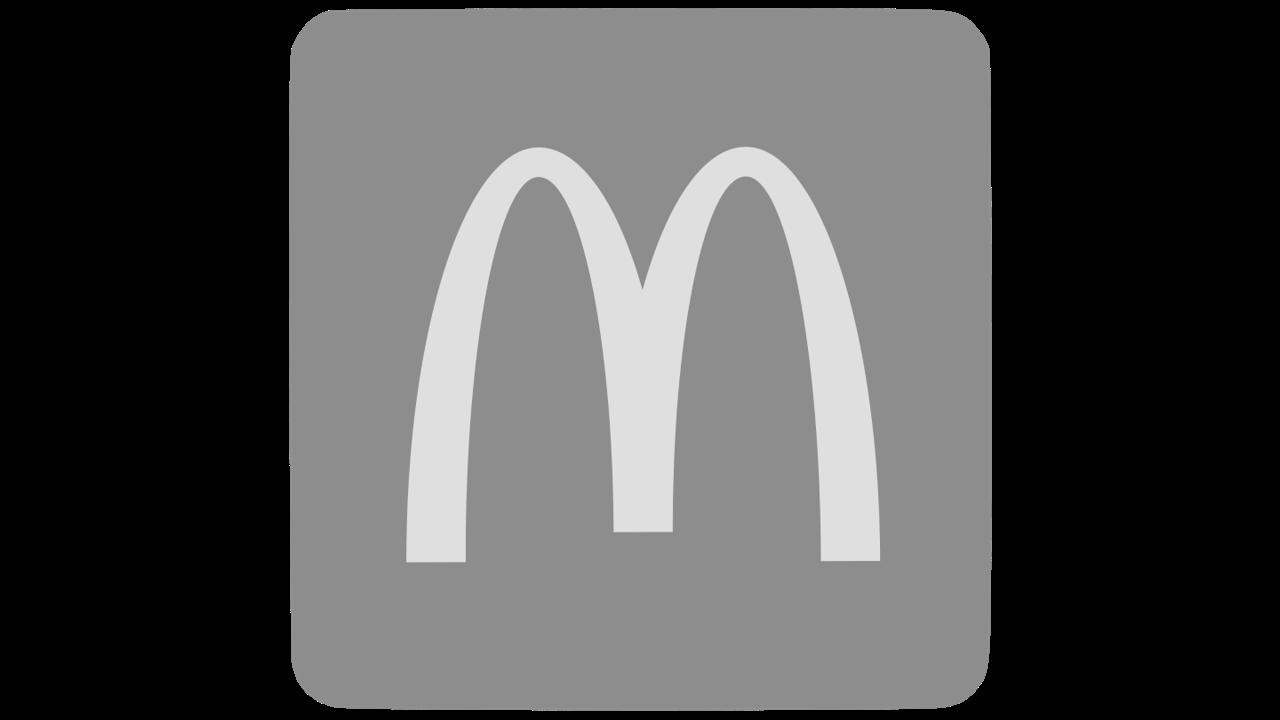 Logo gris mcdonalds
